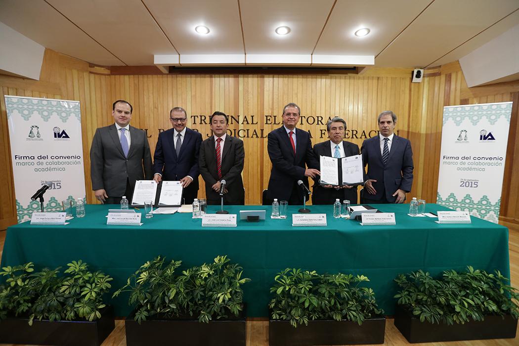 Convenio con el Instituto Mexicano de Auditores Internos, A.C.