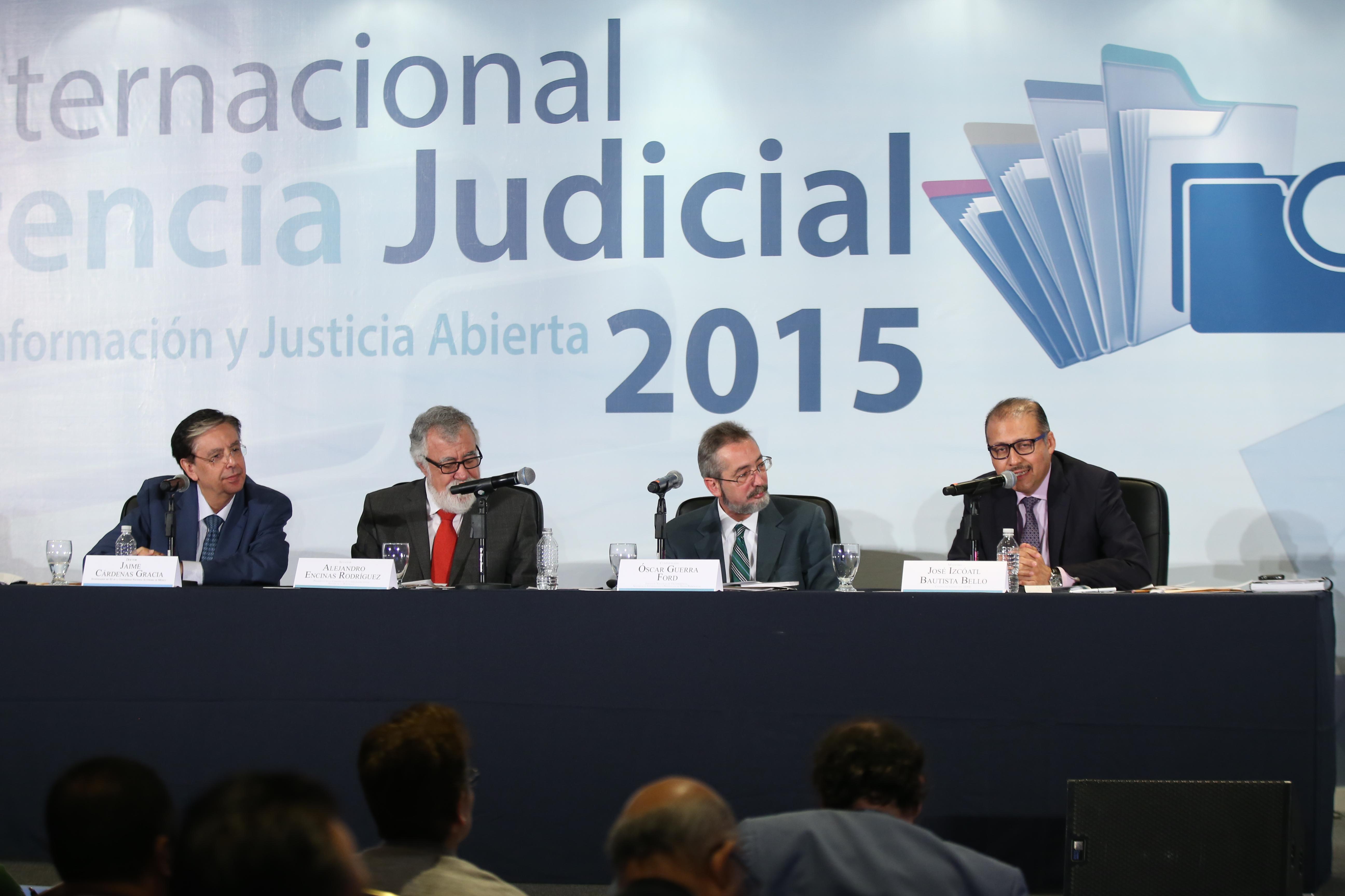 Seminario Internacional de Transparencia Judicial 2015