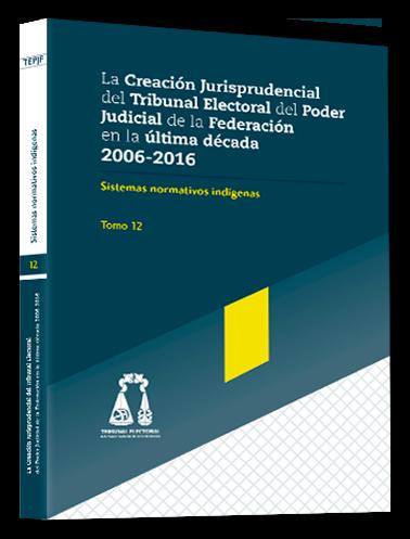 Imagen del Tomo Sistemas normativos indígenas