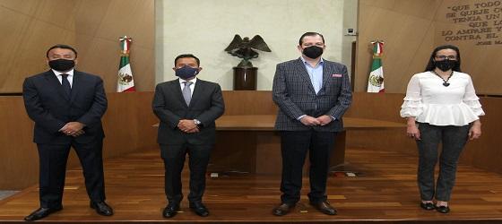 El presidente del TEPJF, José Luis Vargas Valdez, realiza visita a Sala Regional Ciudad de México