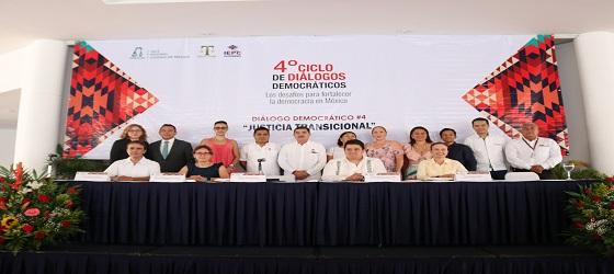 Desarrolló el IEPCGRO, la SRCDMX y el TEE el Cuarto Ciclo de Diálogos Democráticos: Justicia Transicional