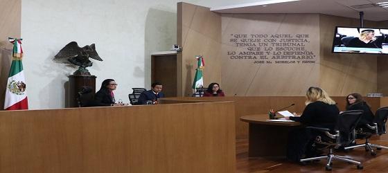 Se confirma resolución del INE relativa a la sanción a Movimiento Ciudadano por irregularidades en informe anual 2018 en Morelos