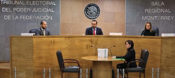 EN UNA DECISIÓN SIN PRECEDENTE, LA SALA MONTERREY AVANZA EN LA PROTECCIÓN DE LA MUJER AL SUSPENDER TEMPORAL A UN REGIDOR ACUSADO DE VIOLENCIA POLÍTICA DE GÉNERO.