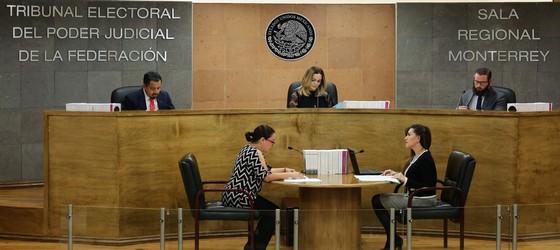 LA SALA MONTERREY CONFIRMA RESULTADOS DE LA ELECCIÓN EN EL AYUNTAMIENTO DE CADEREYTA JIMÉNEZ, NUEVO LEÓN, ATENDIENDO AL PRINCIPIO DE PARIDAD PARA LA INTEGRACIÓN DE AYUNTAMIENTOS