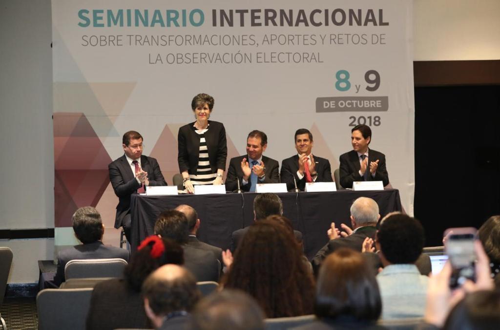 La observación electoral debe vigilar de manera permanente que las autoridades rindan cuentas de sus acciones: Otálora Malassis