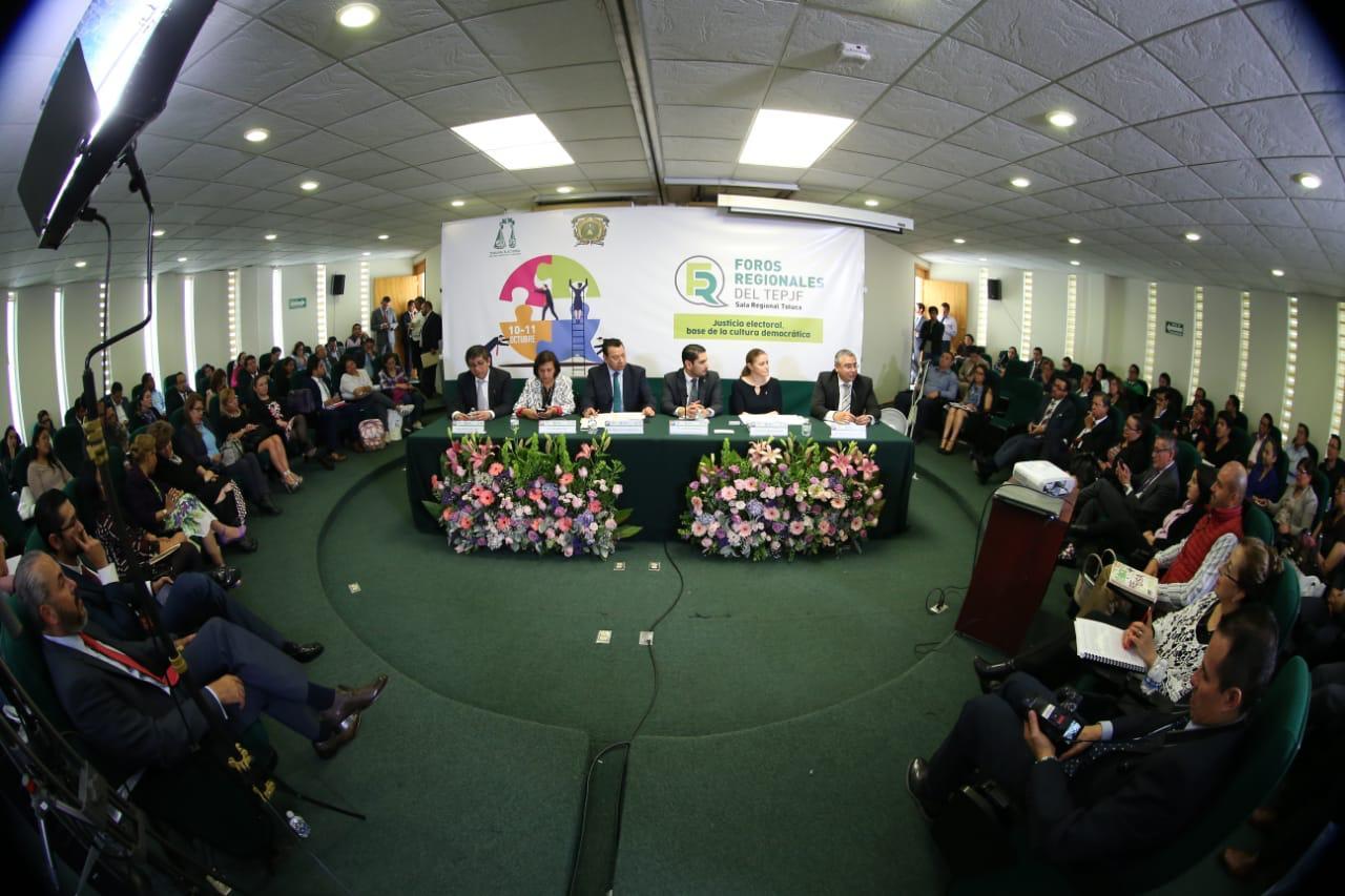 El TEPJF se erige como garante de los principios del sistema electoral: Fuentes Barrera