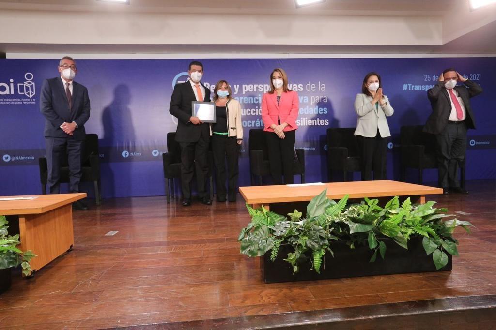 El INAI reconoce al TEPJF por impulsar Prácticas de Transparencia Proactiva