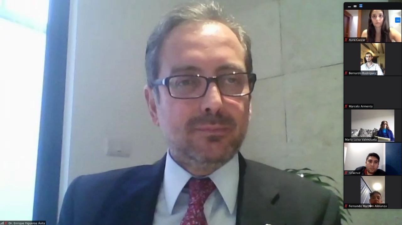 El TEPJF está a la altura de los nuevos desafíos, afirma el magistrado Enrique Figueroa
