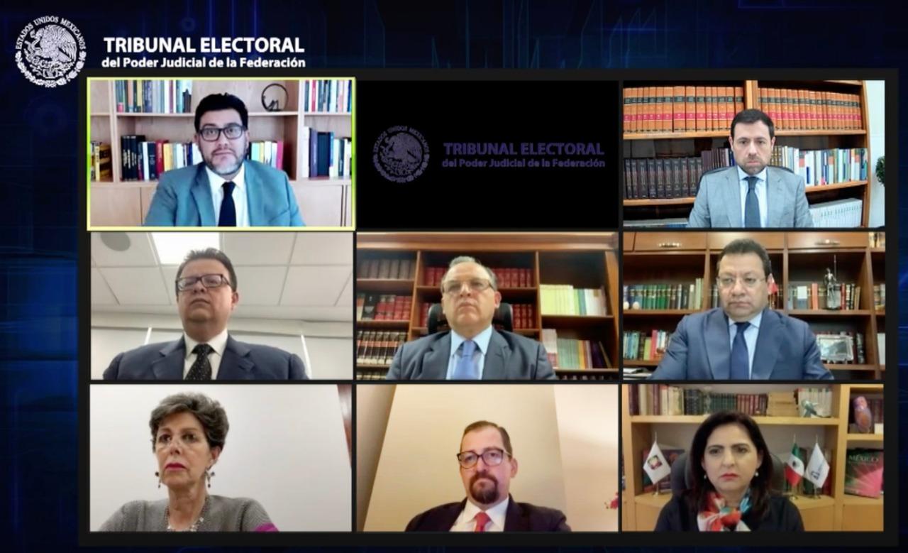 El TEPJF modificó la sentencia de la Sala Regional Toluca referente a la asignación de diputaciones de representación proporcional para la próxima Legislatura del Estado de México <br />