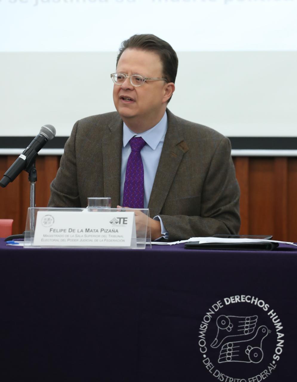 Analicemos si reforma electoral debe contemplar voto a personas sin sentencia definitiva: De la Mata Pizaña