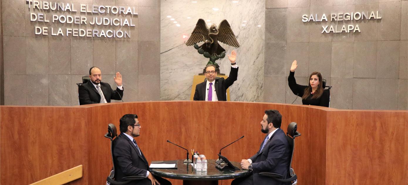 La Sala Regional Xalapa confirma el dictamen consolidado y resoluciones del INE relativos a informes anuales de ingresos y gastos de partidos políticos en Campeche, Chiapas, Tabasco y Yucatán