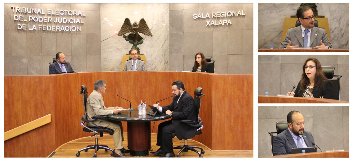 la sala regional xalapa confirma resolución del teech relativa al monto del  financiamiento público ordinario otorgado al pri en el 2018