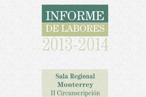 Informe de labores 2013 - 2014 (EJECUTIVO)