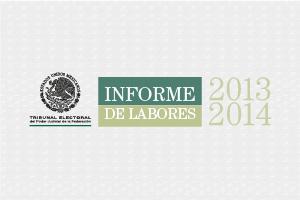 Informe de Labores 2013-2014
