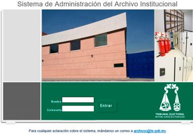 SISTEMA DE ADMINISTRACIÓN DEL ARCHIVO INSTITUCIONAL (SADAI)