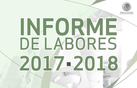 Informe de Labores 2017-2018