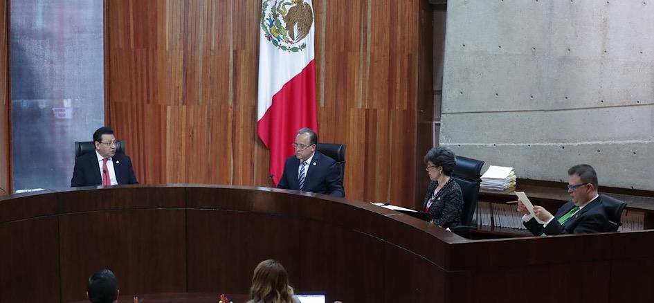 Sala Superior del TEPJF desecha impugnaciones de Armenta por candidatura de Puebla