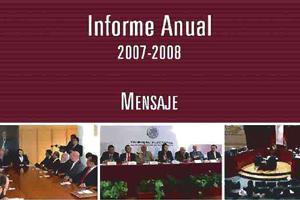 INFORME DE LABORES 2007 - 2008