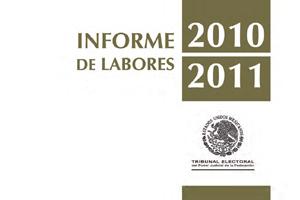 INFORME DE LABORES 2010-2011 (EJECUTIVO)