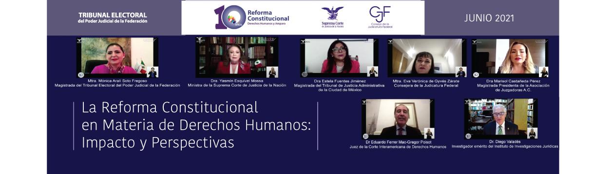 Juezas y jueces cuentan con herramientas para garantizar derechos humanos: Mónica Aralí Soto Fregoso