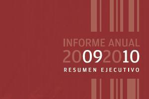 INFORME DE LABORES 2009 - 2010