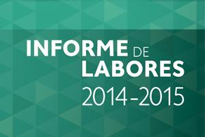 INFORME DE LABORES 2014-2015