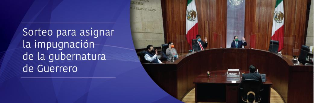 El presidente del TEPJF, José Luis Vargas Valdez, encabeza el primer sorteo por insaculación para asignar la impugnación de gubernaturas