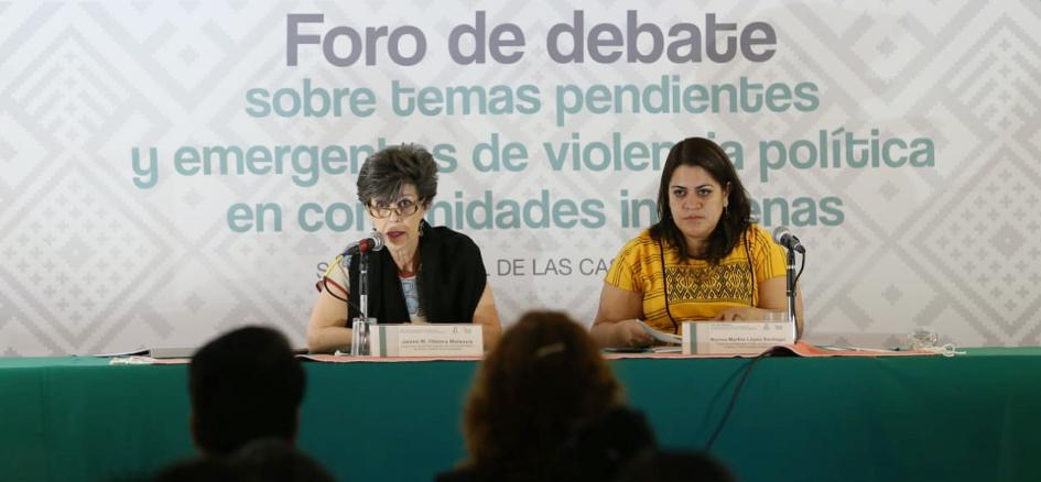 Las demandas que recibimos nos abren la oportunidad para hacer el cambio, señaló Otálora Malassis