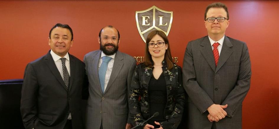 Clausuran Semana de la Escuela Judicial Electoral en la Escuela Libre de Derecho