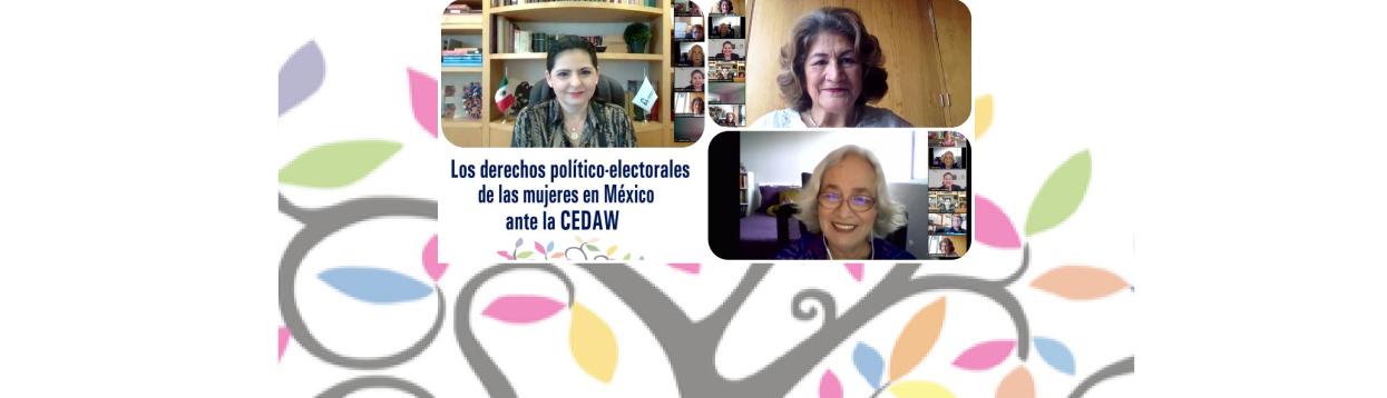 Encabeza la magistrada Mónica Soto presentación del libro Los derechos político-electorales de las mujeres en México ante la CEDAW