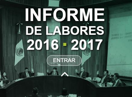Informe de Labores 2016-2017