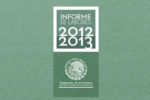 INFORME DE LABORES 2012-2013 (EJECUTIVO)