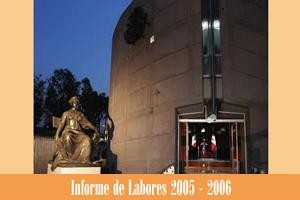 Informe de labores 2005 - 2006