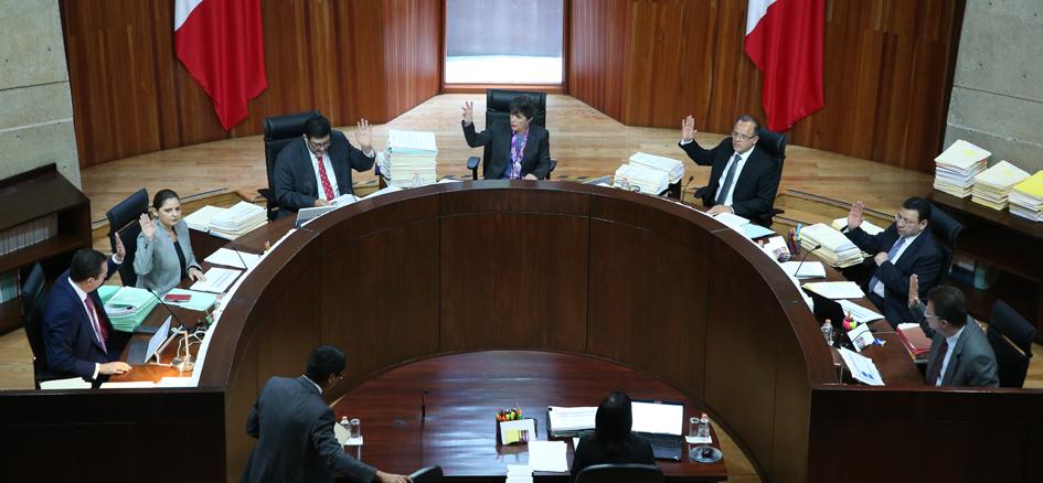 TEPJF resuelve impugnaciones de la elección presidencial