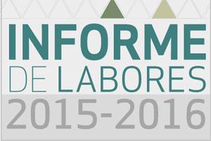 Informe de Labores 2015 -2016 (EJECUTIVO)