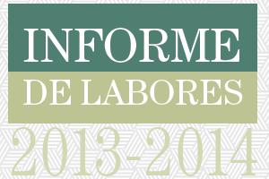 INFORME DE ACTIVIDADES 2013-2014