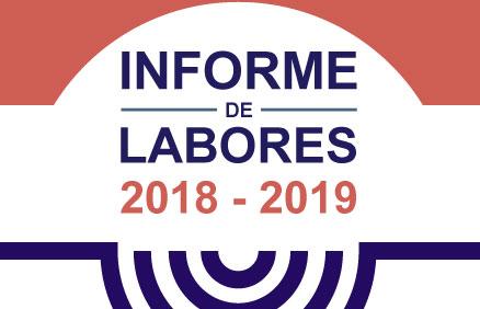 Informe de Labores 2018-2019