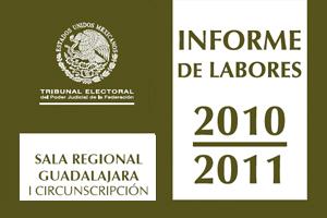 Informe de labores 2010 - 2011