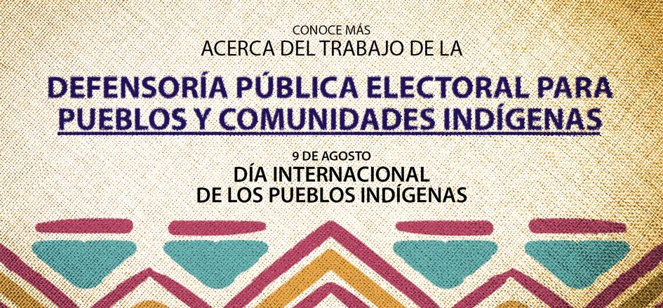 Día Internacional de los Pueblos y Comunidades Indígenas