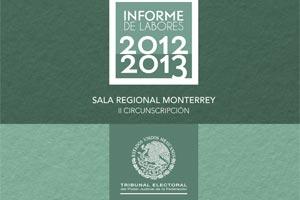 Informe de labores 2012 - 2013