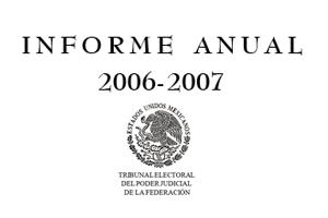 INFORME DE LABORES 2006 - 2007