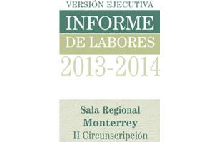 Informe de labores 2013 - 2014