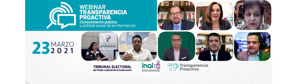 El TEPJF recibe reconocimiento del INAI en materia de Transparencia Proactiva