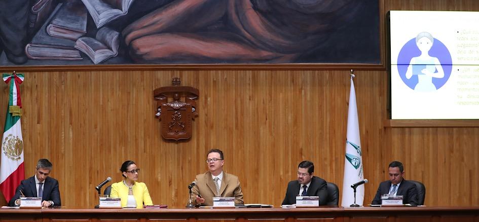 Debaten en Tribunal Electoral del Poder Judicial de la Federación retos y alcances de la democracia
