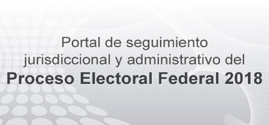 Portal de seguimiento jurisdiccional y administrativo del PEF 2018