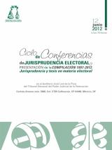 Imagen, Ciclo de Conferencias de Jurisprudencia Electoral