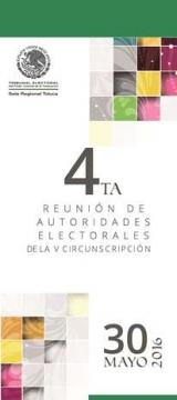 4ta Reunión de autoridades electorales de la V Circunscripción