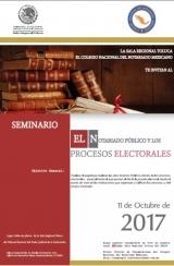 """Seminario """"El notariado público y los procesos electorales"""""""
