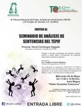 Seminario de Análisis de Sentencias del TEPJF