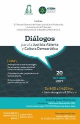 Diálogos para la Justicia Abierta y Cultura Democrática